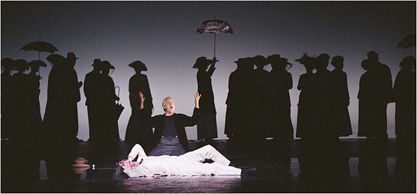 »Death in Venice« dipentaskan oleh English National Opera, ENO, London, Djuni 2007