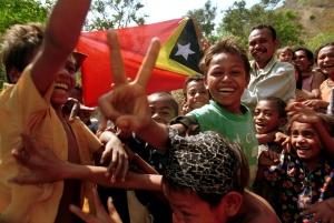 Dili September 1999: majoritas rakjat Timtim memutuskan tjabut dari NKRI