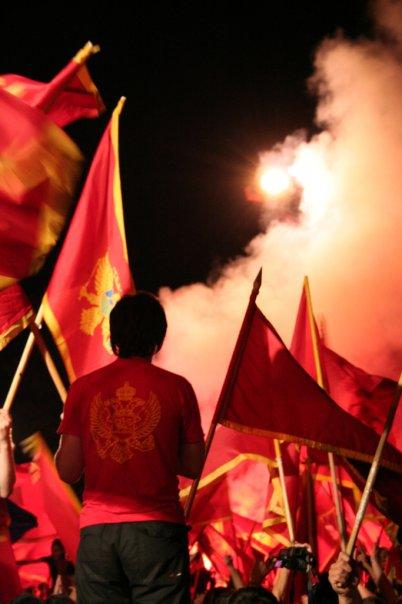 Sorak sorai kemerdekaan Montenegro