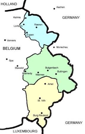 Wilajah berbahasa Djerman di Belgia: Eupen, Malmédy dan St. Vith
