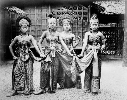 Javanese Dancers at the Paris Exhibition
