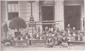 Gamelan performing in Arnhem 1879
