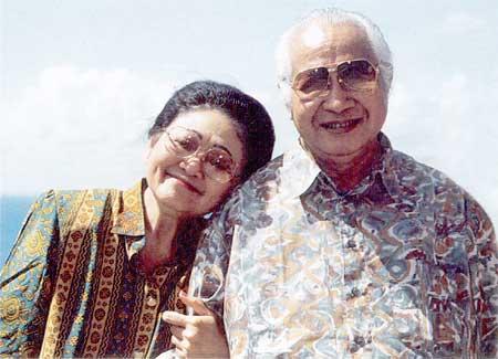 Pasutri Soeharto