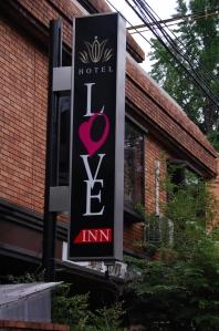 Love hotel di kawasan Gion