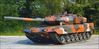 Ini lho salah satu model Tank Leopardnja Londo