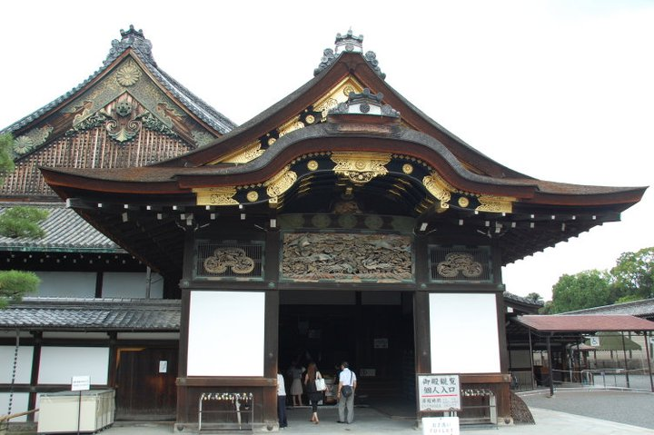Gerbang terachir masuk Puri Nijo