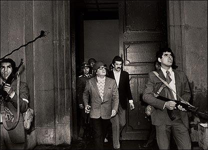 Potret terachir Allende sebelum achirnja tewas