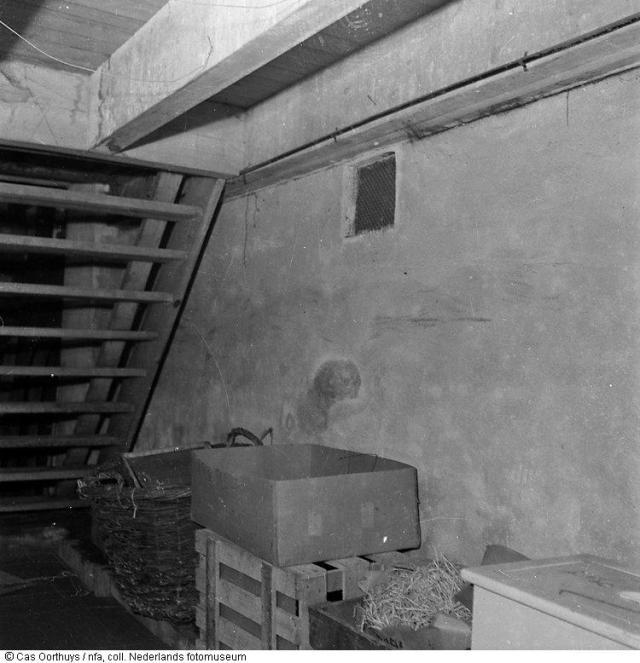 Kelder (ruang bawah tanah) untuk bersembunji