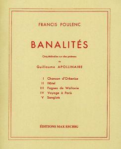 """Sampul depan """"Banalités"""""""
