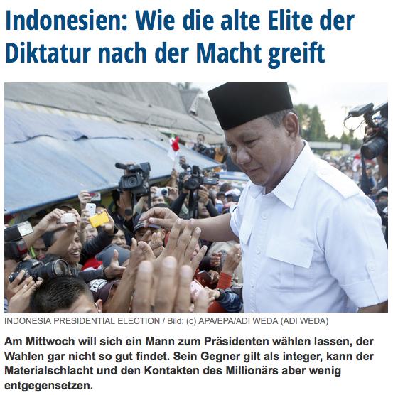 Berita harian Die Presse terbit di Wina