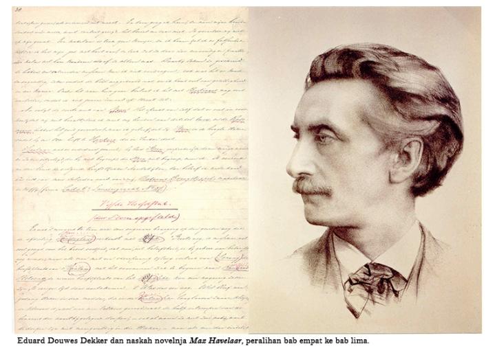 Eduard Douwes Dekker dan naskah novelnja »Max Havelaar«