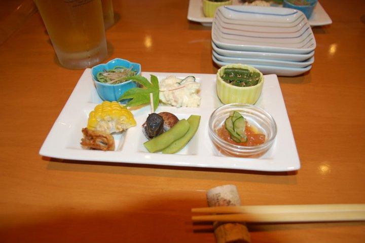 Hidangan pembuka: enam matjemHidangan pembuka: enam matjem