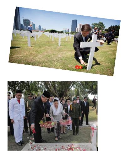 PM Rutte njekar di Menteng Pulo, SBY njekar di Serodja