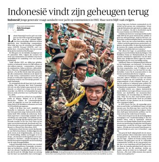 Berita NRC Handelsblad tentang Laksmi Pamuntjak, Eka Kurniawan dan Andreas Harsono