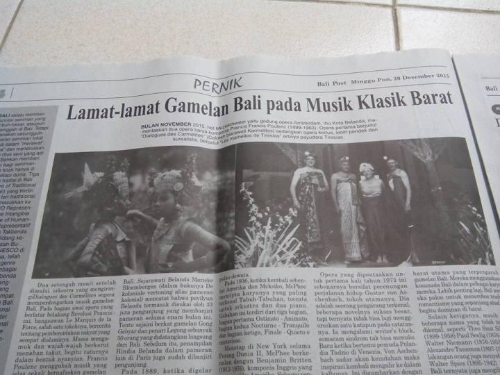 artikel ini wektu nongol di Bali Post