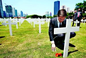 Perdana Menteri Belanda Marc Rutte njekar di Menteng Pulo 2013
