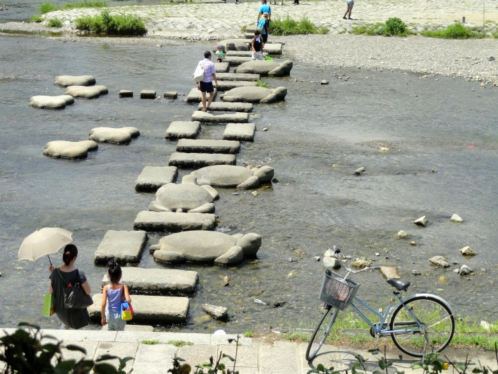 Kura2 Sungai Kamo Kyoto