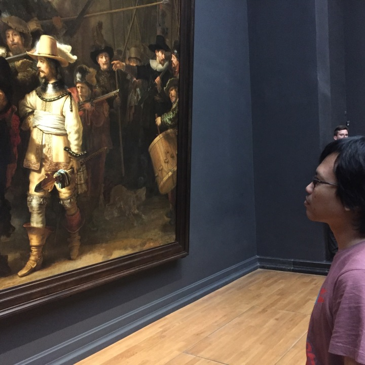 Eka Kurniawan teliti mengamati De nachtwacht