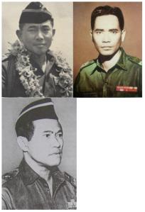 Kelompok pertama: Yani, Pandjaitan, Harjono