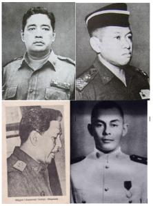 Kelompok kedua: Soeprapto, Parman, Soetojo, Tendean