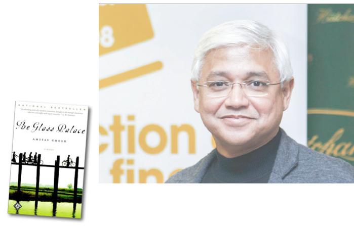The Glass Palace dan penulisnja: Amitav Ghosh