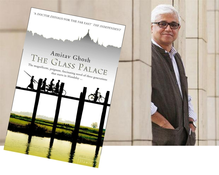 Amitav Ghosh dan sampul »The Glass House«