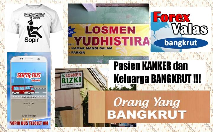 Sopir bangkrut losmen ketika diserap dalam bahasa Indonesia