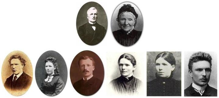 Keluarga Van Gogh (https://nl.wikipedia.org/wiki/Vincent_van_Gogh#/media/File:Famille_van_Gogh.JPG)