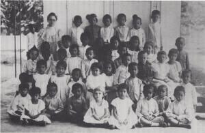ELS (Europeesche Lagere School) sekolah dasar Eropa berbahasa Belanda di Pekalongan, Djawa Tengah, 1899