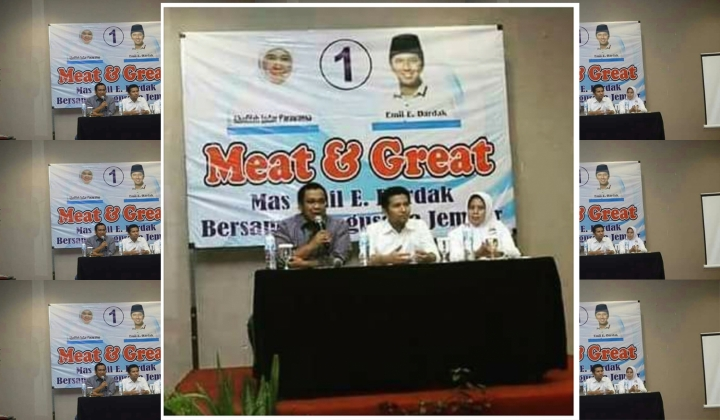 """Meat and great"" artinja kira2 apa jach?"