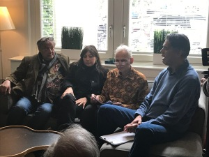 Empat orang bertutur tentang kegiatan perlawanan orang2 Indonesia terhadap nazi