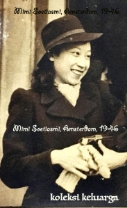 Mimi Soetiasmi, Amsterdam, musim dingin 1946
