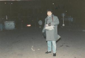 Kedinginan di Berlin Timur (suhu mines delapan)